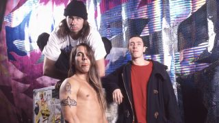 Red Hot Chili Peppers at the time of Mother's Milk in 1989