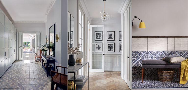 Modern hallway flooring ideas