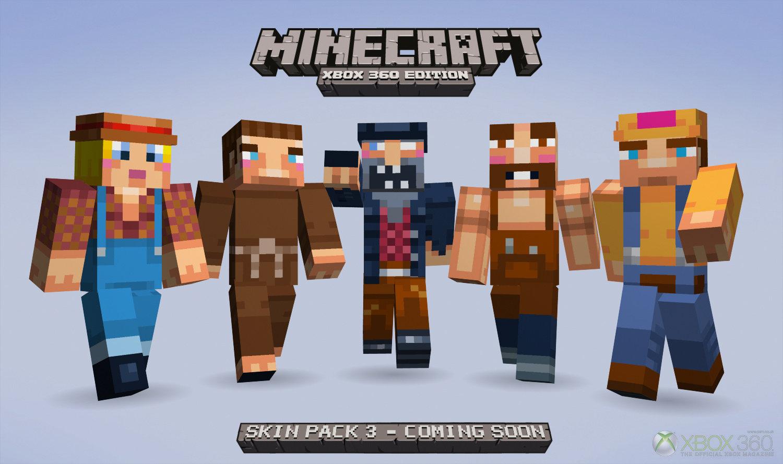 MineCraft Xbox 360 Skin Pack 3 Adds Half-Life 2, Portal 2 Cast