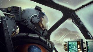 Starfield trailer reveal still cockpit view
