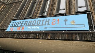 Superbooth 2021 banner
