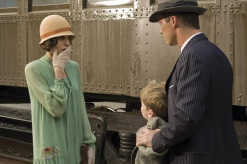 Changeling - Angelina Jolie as Christine Collins, Jeffrey Donovan as Captain JJ Jones & Devon Conti as Arthur Hutchins