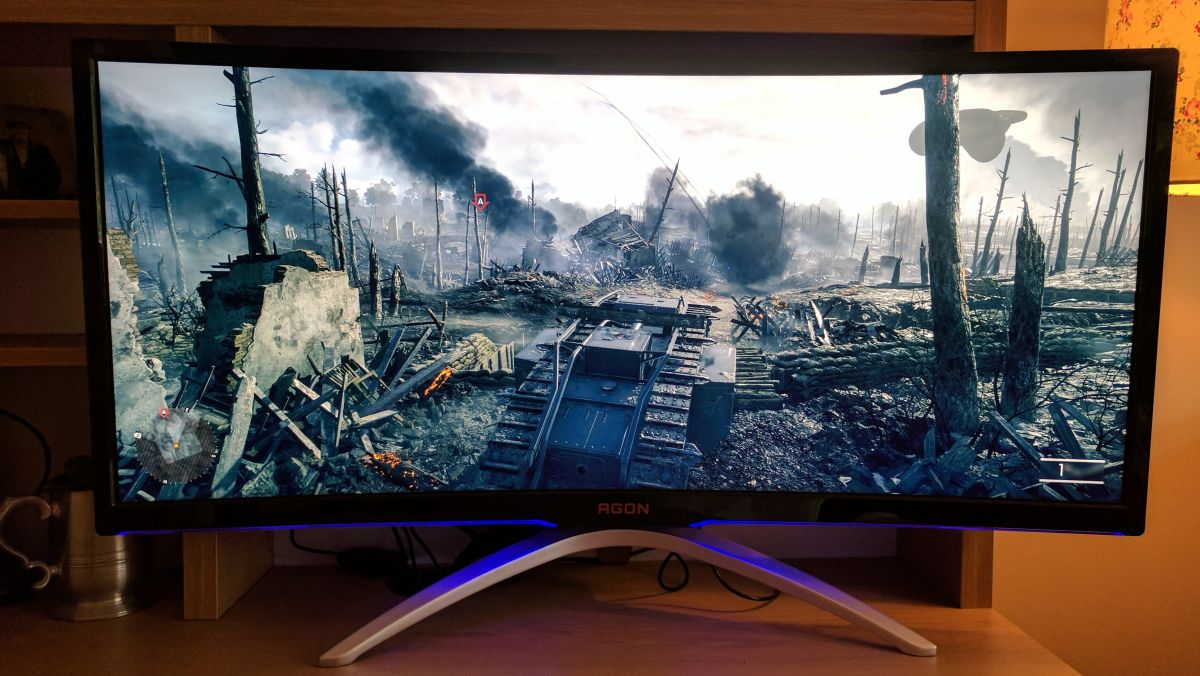 Aoc Agon Ag352ucg Gaming Monitor Review Techradar