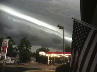 June 29 Derecho in northern Indiana.