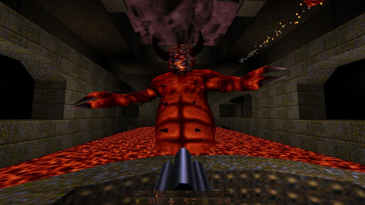 Great moments in PC gaming: Facing Chthon in Quake | PC Gamer Quake Chthon