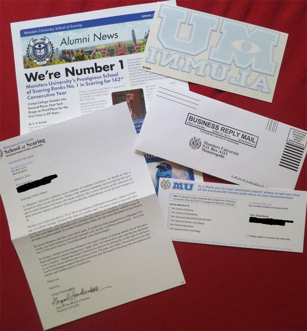MU Alumni Letter
