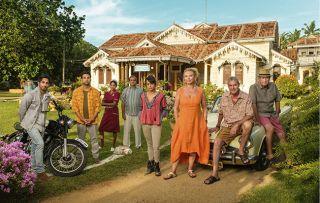 'The Good Karma Hospital makes Ray Winstone cry every week!' says Amanda Redman