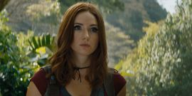 Marvel's Karen Gillan Just Wrapped Her New Netflix Movie With A Dance Party And It's Delightful