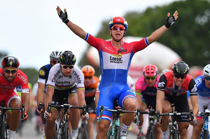 Dutch champion Dylan Groenewegen (LottoNL-Jumbo) wins stage 1 at Eneco Tour