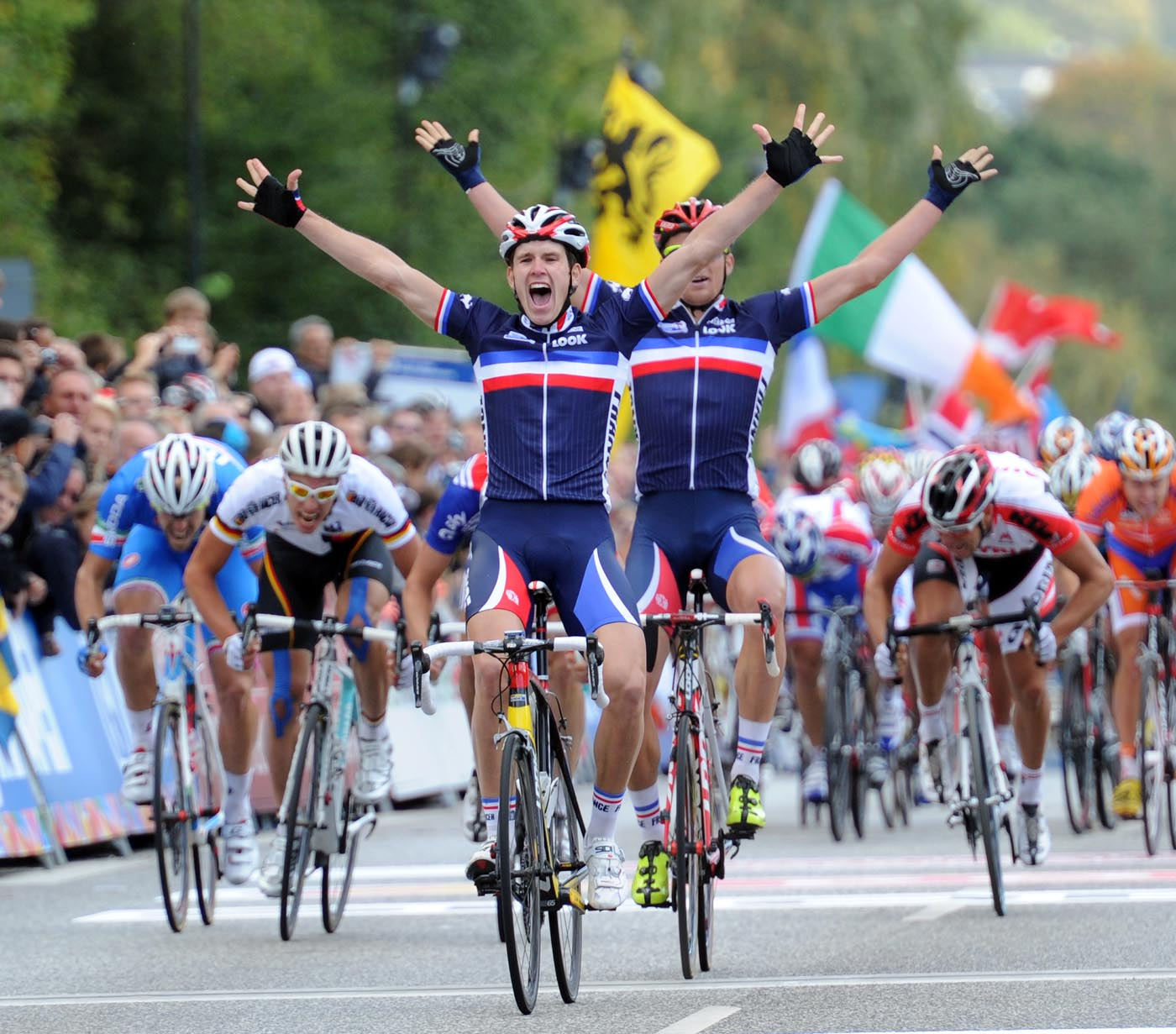 Arnaud Demare wins under-23 men