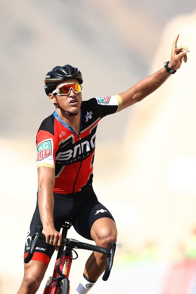 Greg Van Avermaet (BMC) wins stage 3 of the Tour of Oman.
