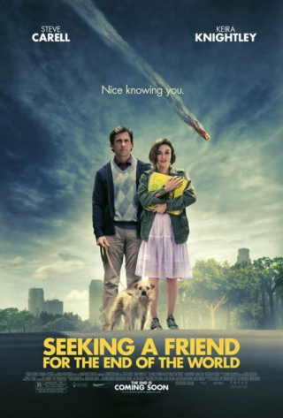 "Movie poster for ""Seeking a Friend for the End of the World."""