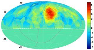 Cosmic Rays from Ursa Major