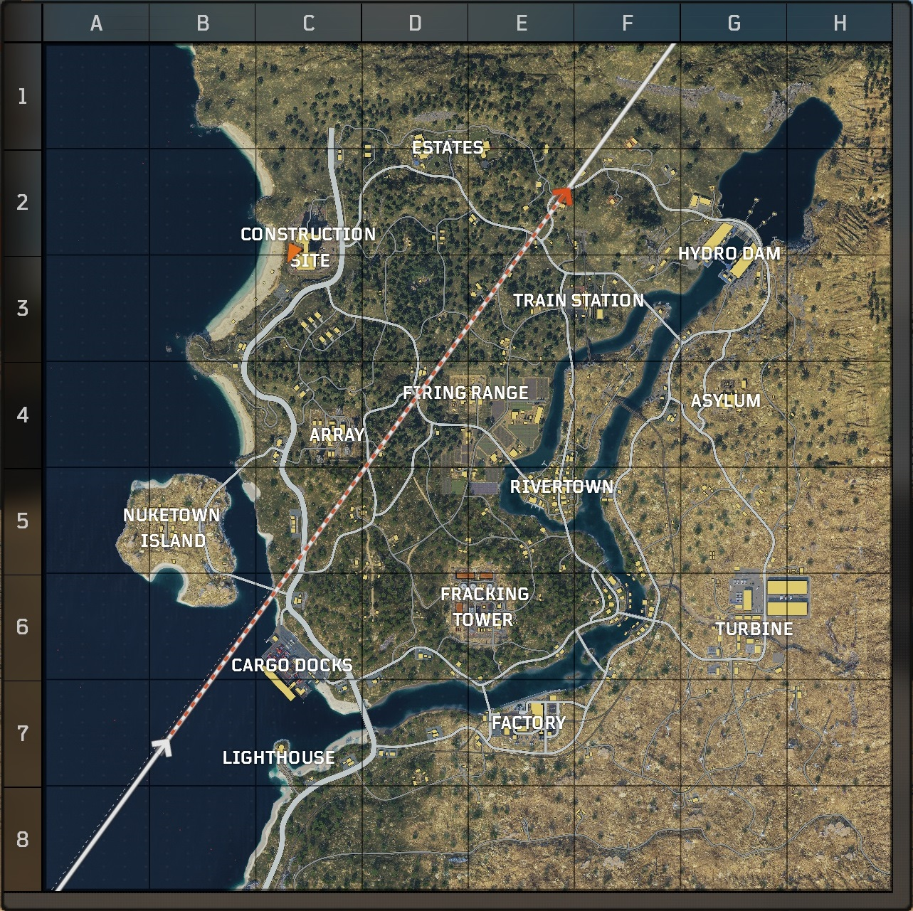 Map 3 Locations.Blackout Map Guide The Best Drop Locations In Black Ops 4 Battle