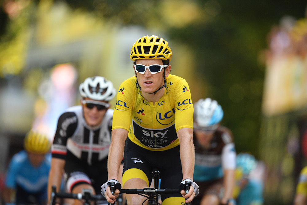 Geraint Thomas Not Expecting Grid Start To Have Big Impact