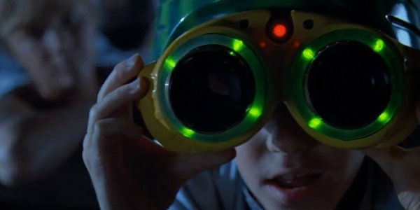 Jurassic Park's  nightvision goggles in the movie