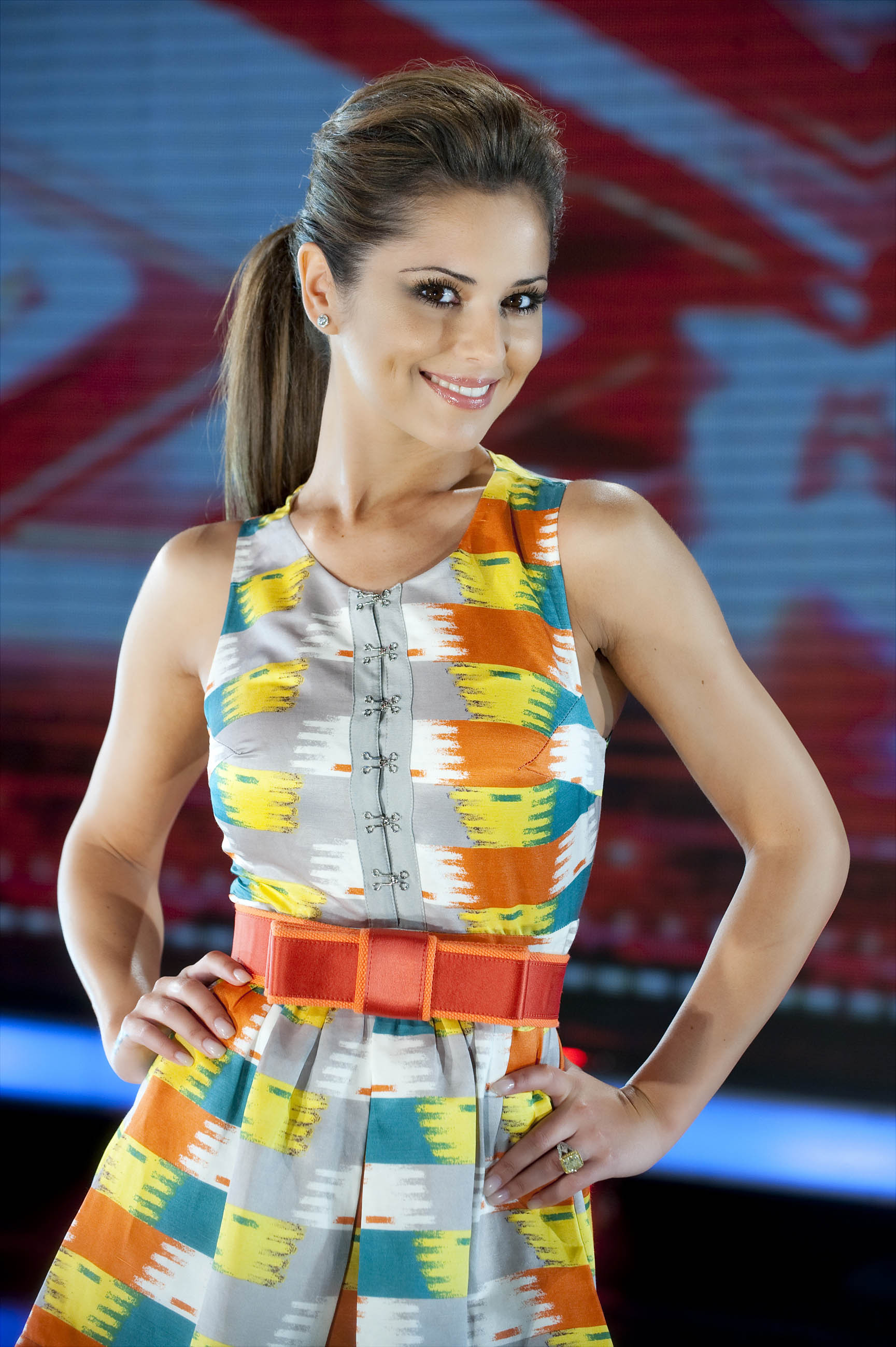 Cheryl: Robbie was nervous and Alex didn't mime