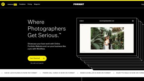 Format's homepage