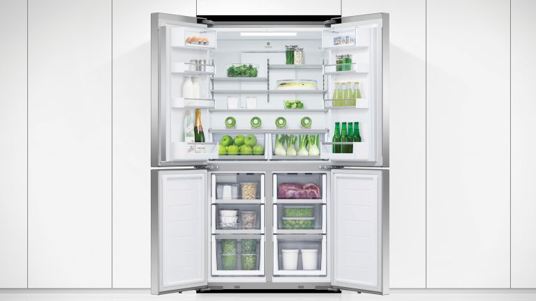 best fridge freezer with doors open