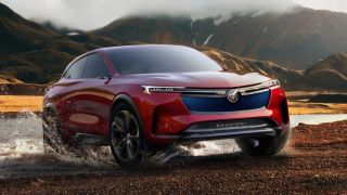Buick Has Taken The Wraps Off A New Electric Vehicle Ev Concept Suv That Boasts An Impressive 370 Mile Range