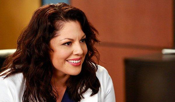 Sara Ramirez as Callie Torres on Grey's Anatomy