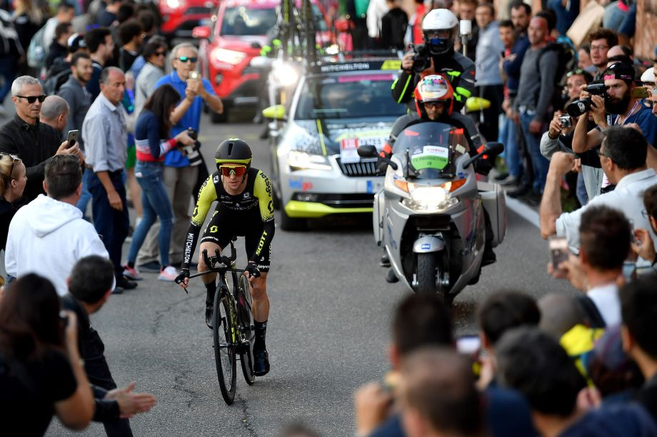 Time trial improvements give Simon Yates valuable confidence ahead of vital Giro d'Italia stage