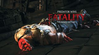 A fatality from Mortal Kombat