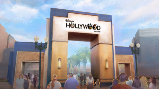 Artist interpretation of Disney Hollywood Studios logo