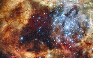 Light-Years and Luminosity: Tarantula Nebula