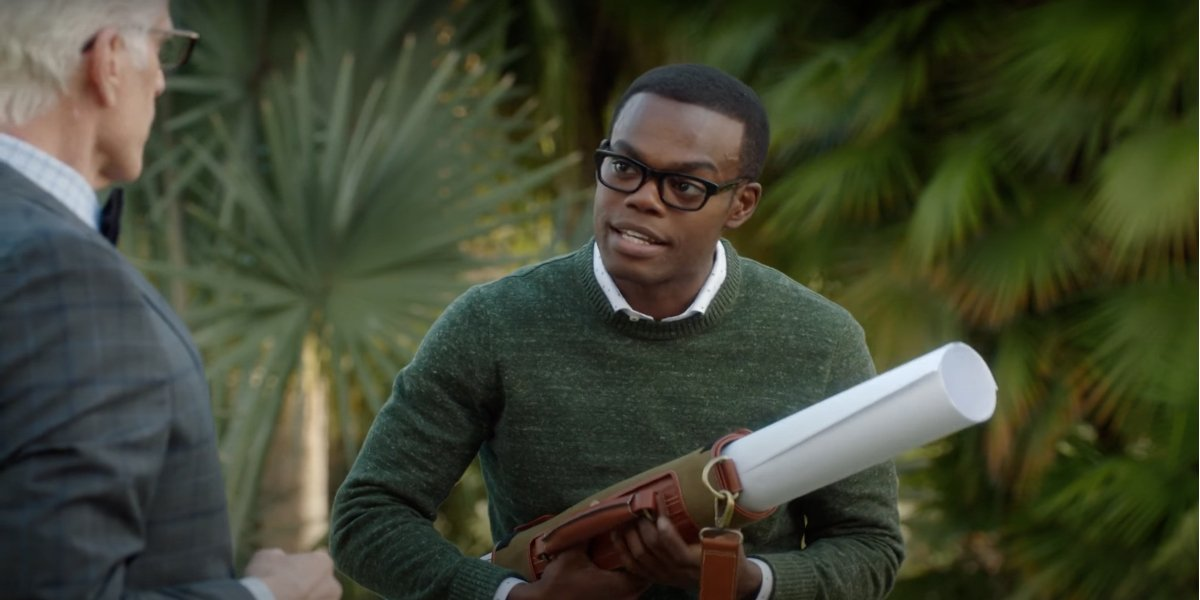 Chidi from The Good Place
