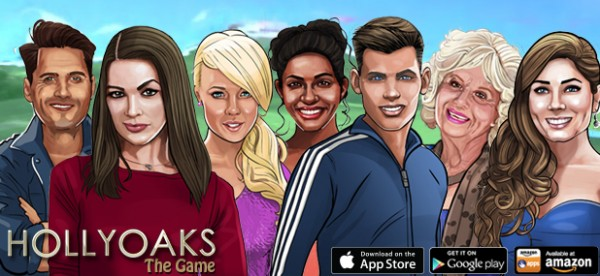 Hollyoaks virtual game characters