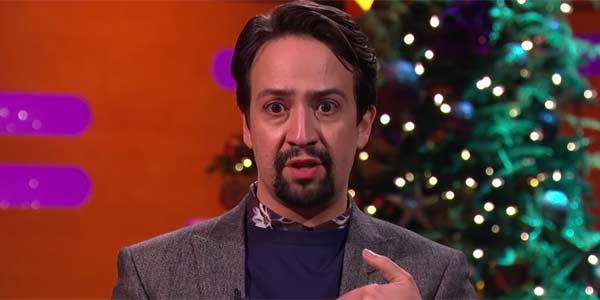Lin-Manuel Miranda Performing Hamilton On The Graham Norton Show, screenshot