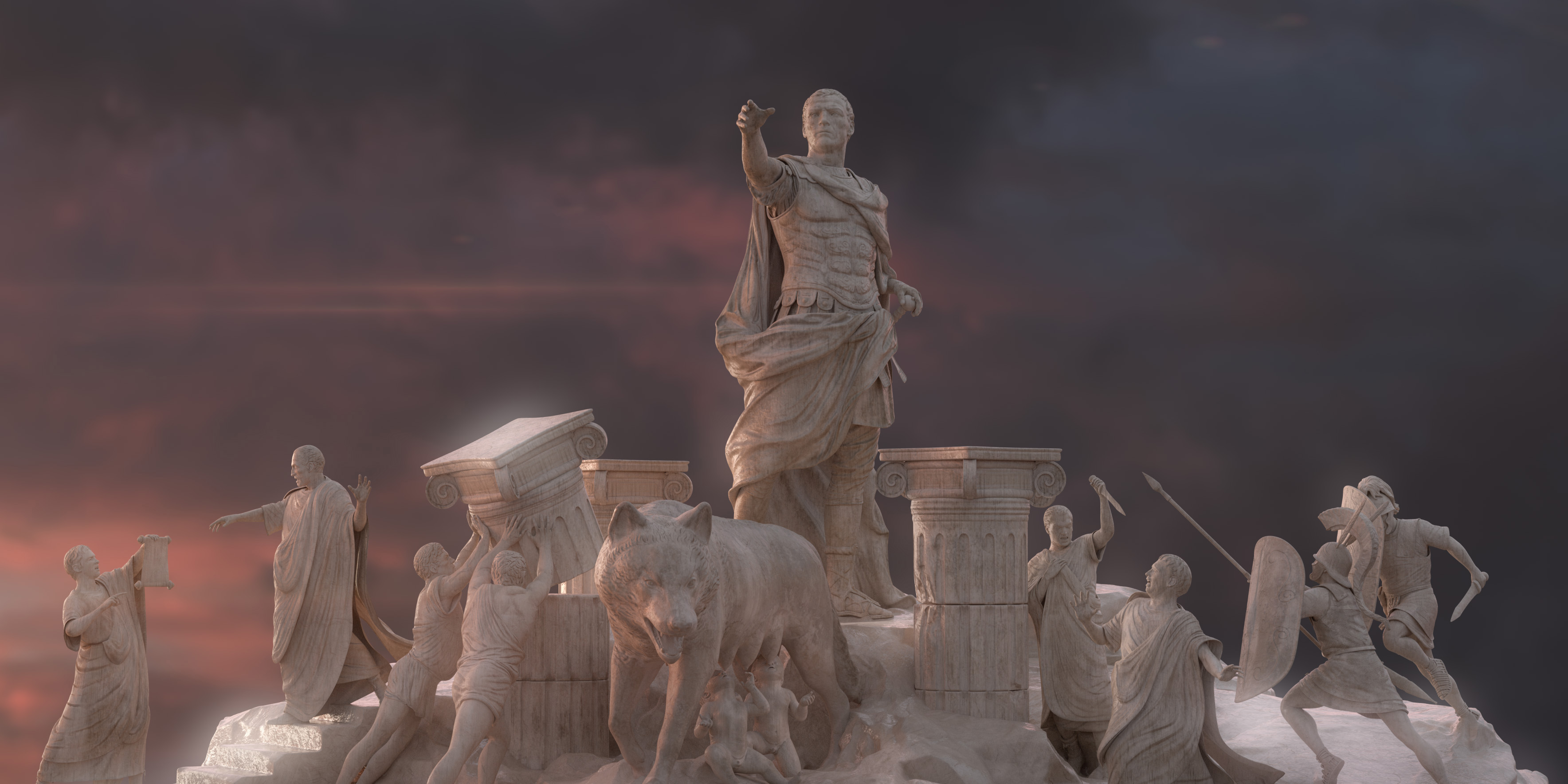 Imperator: Rome is much more than just Crusader Kings in