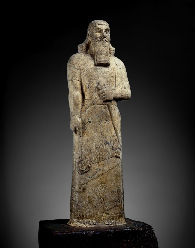 Statue of King Ashurnasirpal II