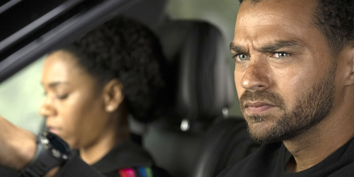 Grey's Anatomy Season 15 finale Maggie and Jackson in car ABC