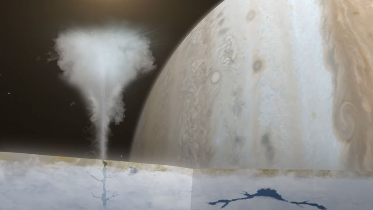 Scientists peer back in time to find new evidence for watery plumes on Europa - Space.com