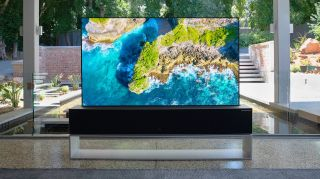 LG Rollable TV R