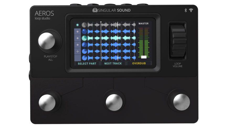 Singular Sound blurs the line between looper and audio workstation with the Aeros Loop Studio