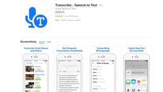 Transcribe - Artificial intelligence-powered dictation software