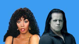 Donna Summer and Glenn Danzig
