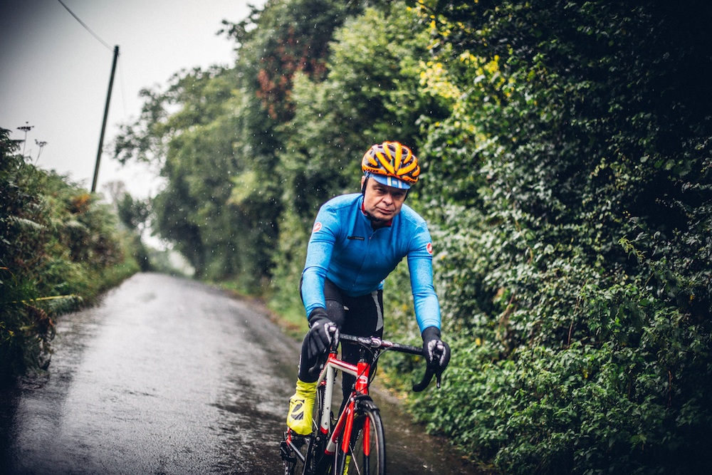 How to dress for wet weather cycling (video)