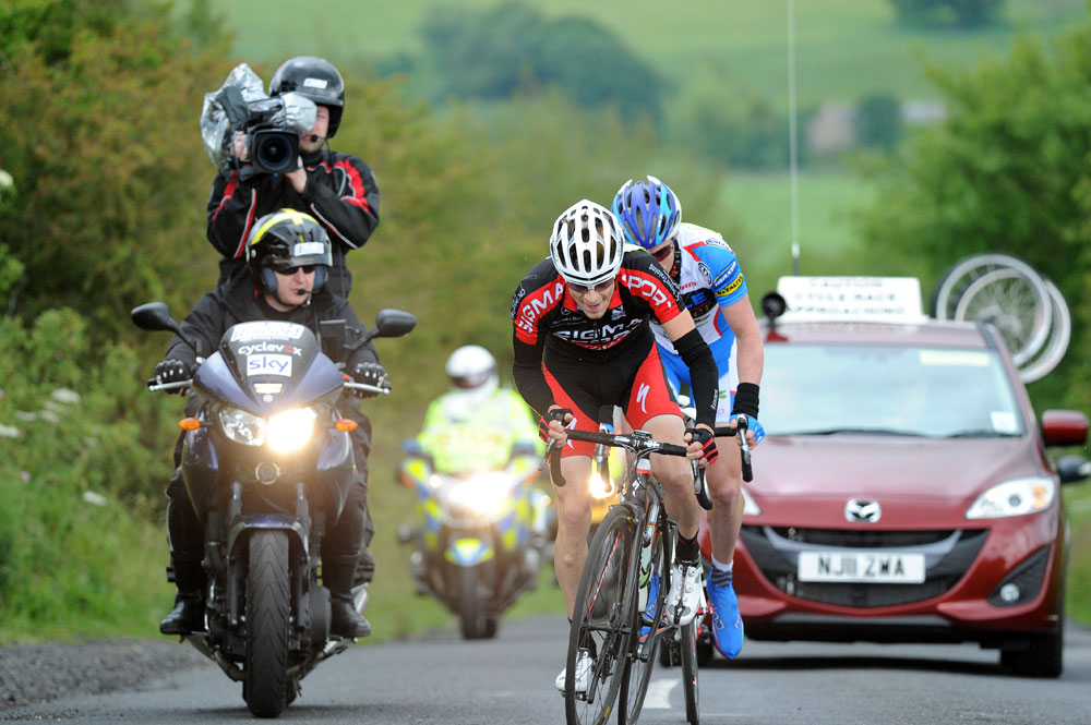 Tom Murray and Stephen Gallagher, Tour of the Reservoir 2011