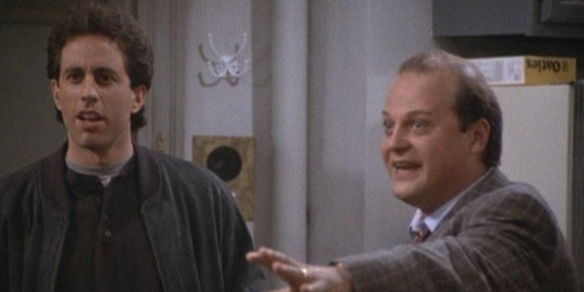 Jerry Seinfeld and Michael Chiklis on Seinfeld