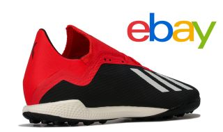 ebay Brand Outlet Sale: adidas Mers X Tango 18.3 TF Football Trainer in Black