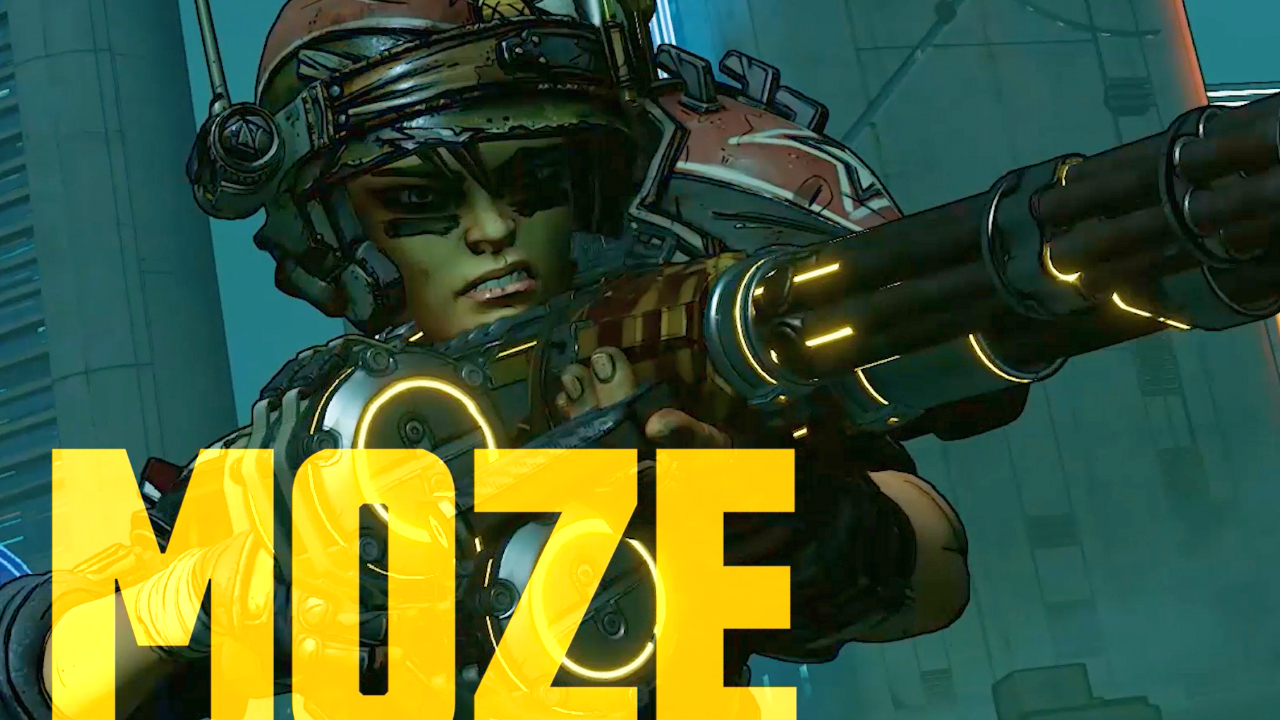 Borderlands 3's Moze gets a backstory and skill reveal with