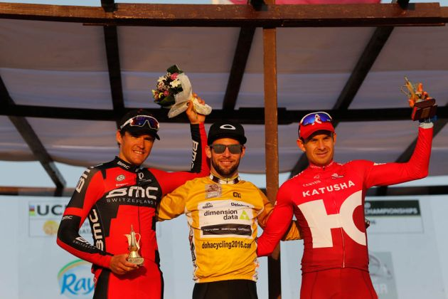 Mark Cavendish wins the 2016 Tour of Qatar