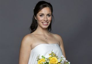 Shona wedding dress in Coronation Street