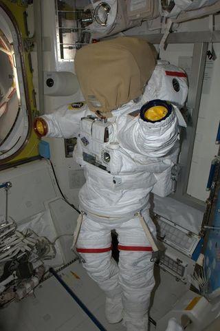 Astronaut Rick Mastracchio's Spacesuit