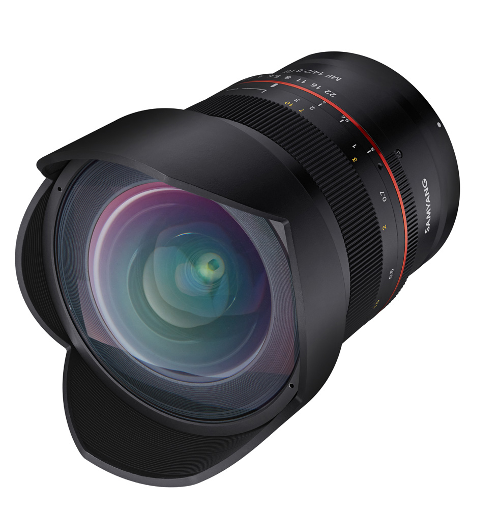Samyang adds 85mm f/1.4 and 14mm f/2.8 lenses for Canon EOS R and EOS RP