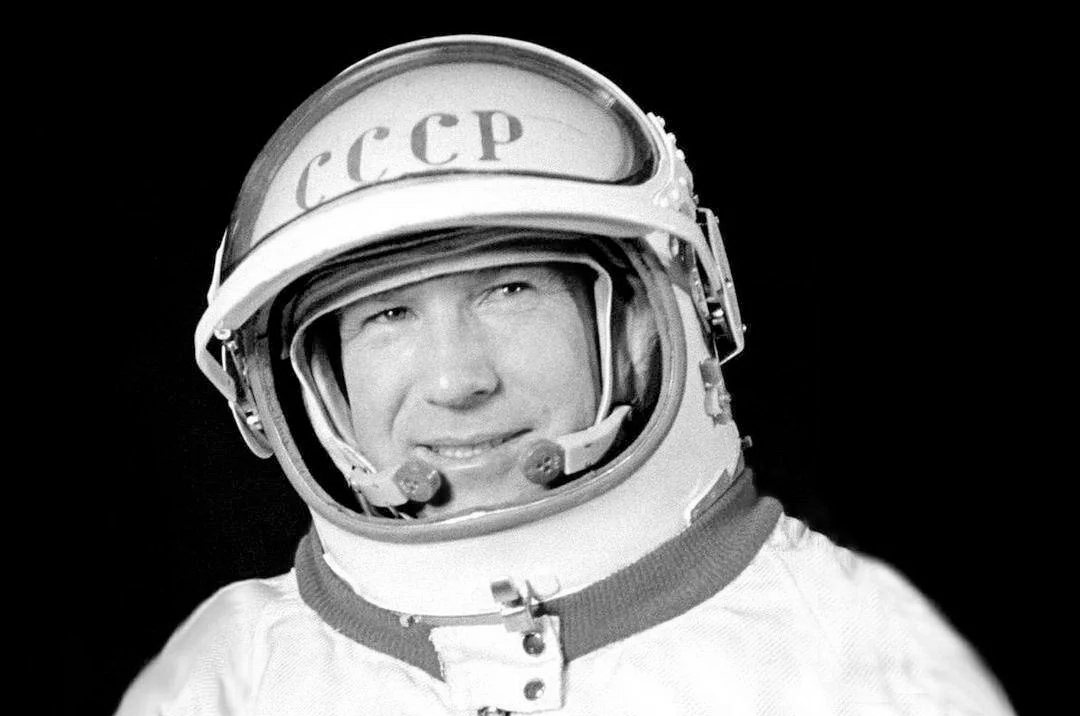 img ALEXEI LEONOV, Russian Cosmonaut, Air Force Major General, Writer, and Artist